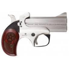 "Bond Arms BAC2K Century 2000 Derringer Single 45 Colt (LC)/410 Gauge 3.5"" 2 Round Stainless"