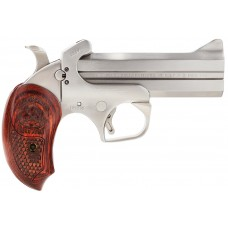 "Bond Arms BASS4 Snakeslayer IV Derringer Single 45 Colt (LC)/410 Gauge 4.25"" 2 Round Stainless"