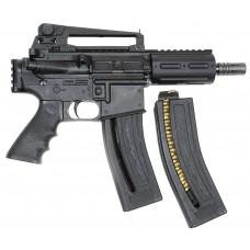 "Chiappa MKS 500071 MFour-22 Pistol AR Pistol Semi-Automatic 22 Long Rifle (LR) 6.1"" 28+1 Black"