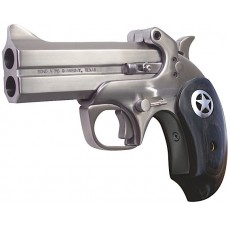 "Bond Arms BARII Ranger Bar II Derringer Single 45 Colt (LC)/410 Gauge 4.25"" 2 Round Black Ash Wood/Star Grips Stainless"