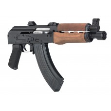 "Century HG3089N PAP M92 PV AK Pistol Semi-Automatic 7.62X39mm 10"" 30+1 Black Polymer Pistol Grip Wood Foorearm Black"
