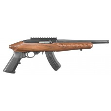 "Ruger 4917 22 Charger Pistol Standard Pistol Semi-Automatic 22 Long Rifle 10"" 15+1 Brown Laminate Black Metal Finish"