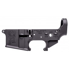 Spikes STLS024 Stripped Lower Punisher AR-15 AR Platform Multi-Caliber Black Hardcoat Anodized
