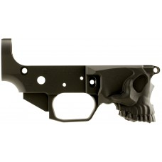 Spikes STLB520 Stripped Lower Calico Jack Logo AR-15 AR Platform Multi-Caliber Black Hardcoat Anodized