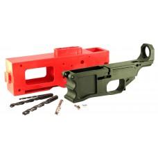 Polymer80 P80308KITODG 308 Warrhogg AR-15 308 Winchester/7.62 NATO Polymer OD Green