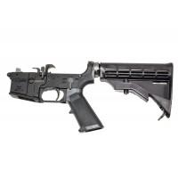 CMMG 10227 9mm MK9 Complete Lower Receiver AR-15 9mm 6 Pos Stk Blk