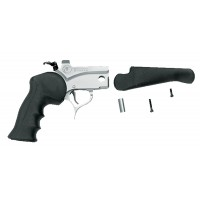 T/C Arms 08151876 Pro Hunter Pistol Frame Black Rubber Grip Blk Stk SS