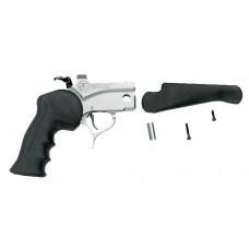 T/C Arms 08151876 Pro Hunter Pistol Frame Black Rubber Grip Blk Stk SS