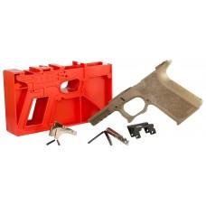 Polymer80 P80PF940CV1F G19/23 Gen3 Compatible Frame Kit Polymer FDE