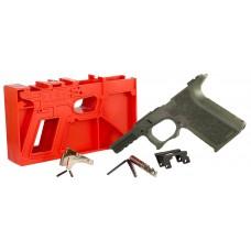 Polymer80 P80PF940CV1O G19/23 Gen3 Compatible Frame Kit Polymer OD Green