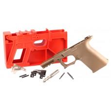 Polymer80 P80PF940CV1R G19/23 Gen3 Compatible ReadyMod Frame Kit Polymer FDE