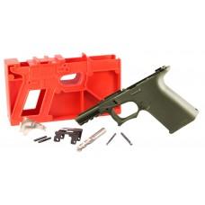 Polymer80 P80PF940CV1R G19/23 Gen3 Compatible ReadyMod Frame Kit Polymer OD Green
