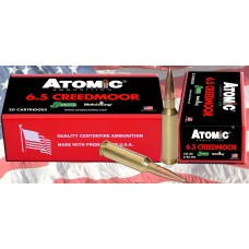 Atomic 00404 Match 6.5 Creedmoor 142 GR MHP 20 Bx/ 10 Cs
