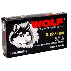 Wolf 545BHP Performance 5.45x39mm Bimetal HP 55 GR 750 Rds