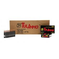 Tulammo TA223550 Centerfire Rifle 223 Rem/5.56 NATO 55 GR FMJ 20 Bx/ 50 Cs