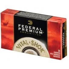 Fed P270WSMTC1 Vital-Shok 270 Win Short Mag Trophy Copper 130 GR 20Box/10Case