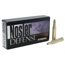 Nosler 39674 Defense Rifle 223 Rem/5.56 NATO Bonded Solid Base 64GR 20Box/20Case