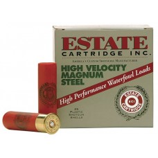 "Estate HVST12MM High Velocity Magnum Steel 12ga 3"" 1-3/8 oz 4 Shot 25Box/10Case"