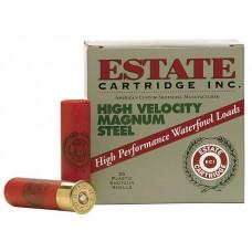 "Estate HVST123SF High Velocity 12 Ga 3"" 1-1/8 oz 4 Shot 25 Bx/ 10 Cs"