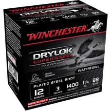 "Winchester Ammo XSV123BB Drylock 12 Gauge 3"" 1-1/4 oz BB Shot 25 Bx/ 10 Cs"