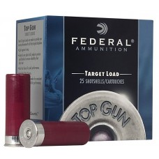 "Federal TG1477 Top Gun 12 Gauge 2.75"" 1-1/8 oz 7 Shot 25 Bx/ 10 Cs"