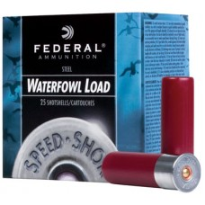 "Federal WF2074 Speed-Shok Waterfowl 20 ga 3"" 7/8oz 4 Shot 25Bx/10Cs"