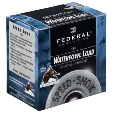 "Federal WF143T Speed-Shok Waterfowl 12 ga 3"" 1-1/8oz T Shot 25Bx/10Cs"