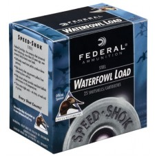"Federal WF143BBB Speed-Shok 12 Gauge 3"" 1-1/8 oz BBB Shot 25 Bx/ 10 Cs"
