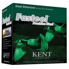 """Kent Cartridge K122ST301 Fasteel 12 Ga 2.75"""" 1-1/8 oz 1 Shot 25 Bx/ 10 Cs"""
