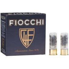 """Fiocchi 12LERBK Rubber Buck 12 ga 2.75"""" 15 Pellets 00 Buck Shot 25Bx/10Cs"""