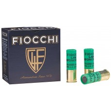 "Fiocchi 12LEBAT Rubber Buckshot/Slugs 12 Ga 2.75"" 4.8 GR Slug Shot 25 Bx/10Cs"