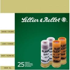 "Sellier & Bellot V075212U Sperical Ball 12ga 2.75"" 2-11/16oz 17.5mm Rubber Ball"