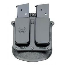 Fobus 4500RB Roto DBL MAG Pouch 4500RB Standard Black Plastic