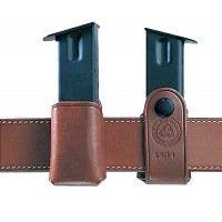 "Galco SMC26 Single Mag Case Snap 26 Fits Belts up to 1.75"" Tan Leather"