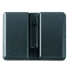 Uncle Mikes 50361 Kydex Double Row Single Magazine Case Black Kydex