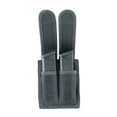 Uncle Mikes 8829 DBL MAG Pouch 8829-1 29-1 Black Nylon