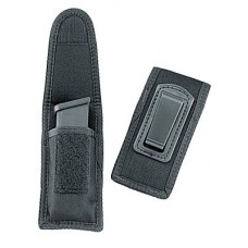 Uncle Mikes 8824 MAG Case W/clip 8824-1 24-1 Black Nylon
