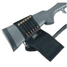 Uncle Mikes 8848 Rifle Butt Stockshell Holder 8848-2 48-2 Black Nylon