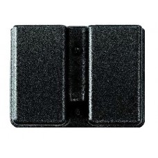 "Uncle Mikes 51371 Kydex Case 5137-1 Fits Belt Loops up to 1.75"" Black Kydex"