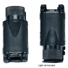 Uncle Mikes 5030 Kydex Clip On Light Holder Black