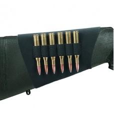 Uncle Mikes 8848 Rifle  Butt Stockshell Holder 8848-3 48-3 Black Neoprene