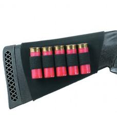 Uncle Mikes 8849 SHG  Butt Stockshell Holder 8849-3 49-3 Black Neoprene