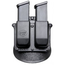 Fobus 6900P DOUBLE MAG PADDLE 6900P Double Stack Black Plastic