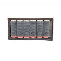 Grovtec US Inc GTAC87 Cartridge Slide Holder Any Shotgun Ammo Blk Elastic/Nylon