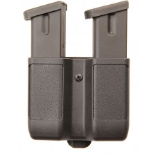 Blackhawk 410610PBK Double Magazine Case 9mm/40 Cal/45 Cal/357Sig Double Stack Black Synthetic