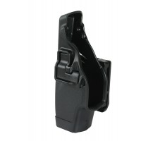 Blackhawk 44H015BKL Taser X26 LH Holster Fits all SERPA Platforms Nylon Black