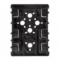 Safariland 6004352 ELS Receiver Plate Hard Plastic Black 2Pcs