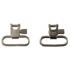 "Uncle Mikes 10933 QD Super Swivel with Tri-Lock 1.25"" Quick Release Nickel-Plated Steel"
