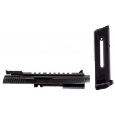 "Tactical Solutions 2211TESSCOMB 2211 Conversion w/Combo Rail Threaded Barrel 4.8"" Blk Steel"