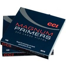 CCI 0016 Primer Large Magnum Pistol 10 Boxes of 100 Primer